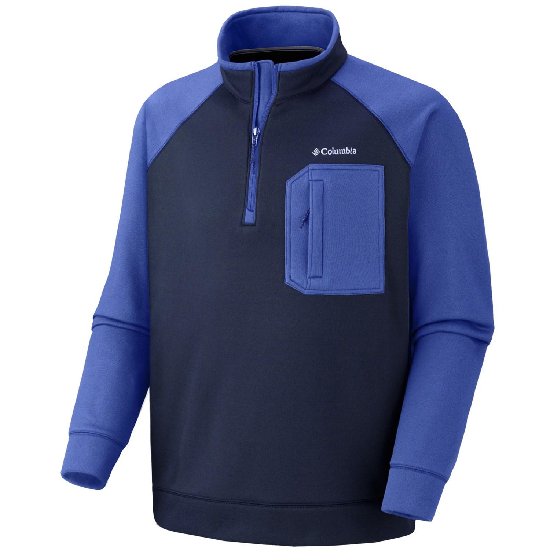 Columbia Sportswear Liquid Rock Fleece Jacket - Zip Neck ...
