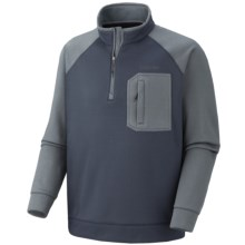 Columbia Sportswear Liquid Rock Fleece Jacket - Zip Neck (For Men) in Mystery - Closeouts