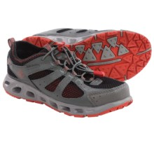 Columbia Sportswear Liquifly II Shoes (For Big Girls) in Black/Sail Red - Closeouts