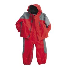 Columbia Sportswear Little Lumberjack Set - Insulated (For Infant Boys) in 610 Intense Red - Closeouts