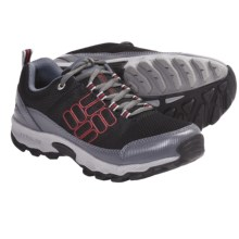 Columbia Sportswear Lonerock Mesh Shoes (For Youth) in Black/Intense Red - Closeouts