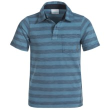 Columbia Sportswear Lookout Point Polo Shirt - Short Sleeve (For Little and Big Boys) in Night Tide - Closeouts