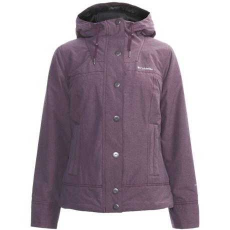 Columbia Sportswear Looty Loo Jacket - Insulated (For Women) in Black Cherry