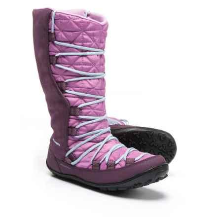 Columbia Sportswear Loveland Omni-Heat® Snow Boots - Waterproof, Insulated (For Girls) in Violet Haze/Oxygen
