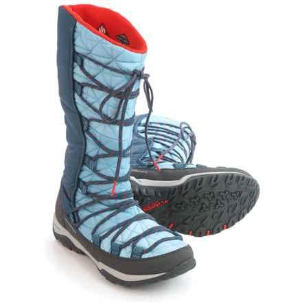 Columbia Sportswear Loveland Omni-Heat® Snow Boots - Waterproof, Insulated (For Women) in Dark Mirage/Spicy