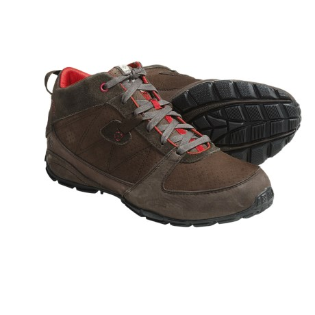 Columbia Sportswear Lowpro Mid Shoes - Nubuck, Suede (For Men) in Bracken/Chili Pepper