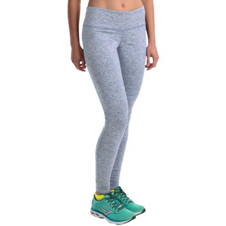 Columbia Sportswear Luminescence Space-Dye Leggings- Omni-Wick® (For Women) in Beacon Spacedye