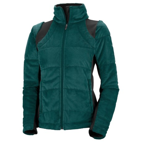 Columbia Sportswear Lush Plush Omni-Heat® Fleece Jacket - Insulated (For Women) in Blue Forest