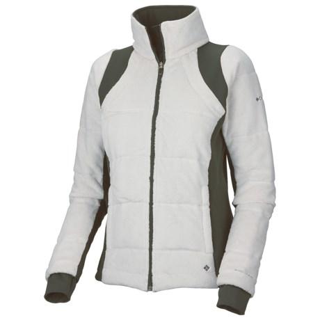 Columbia Sportswear Lush Plush Omni-Heat® Fleece Jacket - Insulated (For Women) in Sea Salt