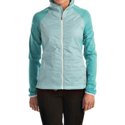 Columbia Sportswear Mach 38 Hybrid Jacket - Omni-Heat® (For Women) in Candy Mint - Closeouts