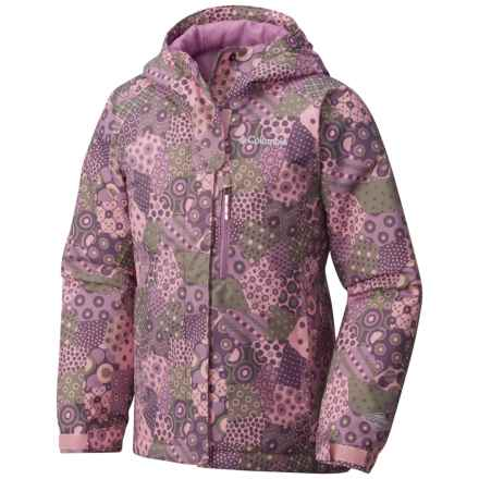 Columbia Sportswear Magic Mile Omni-Heat® Jacket - Waterproof, Insulated (For Toddler Girls) in Cupid Patchwork Print