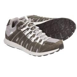 Columbia Sportswear Master Fly Leather Shoes - OutDry®, Waterproof (For Women) in Mud/Daybreak