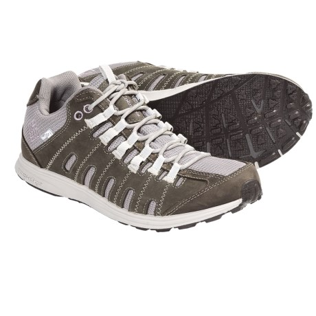 Columbia Sportswear Master Fly Leather Shoes - OutDry®, Waterproof (For Women) in Mud/Daybreak