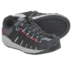 Columbia Sportswear Master Fly Shoes (For Kids) in Black/Intense Red