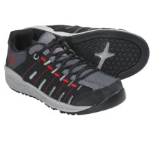 Columbia Sportswear Master Fly Shoes (For Youth) in Black/Intense Red - Closeouts
