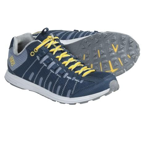 Columbia Sportswear Master Fly Shoes - Minimalist (For Women) in Mirage/Laser Lemon