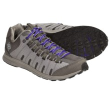 Columbia Sportswear Master Fly Shoes - Minimalist (For Women) in Moonrock/Clematis Blue - Closeouts