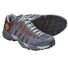 Columbia Sportswear Master of Faster Low Trail Shoes (For Men) in Dark Shadow/Picante - Closeouts