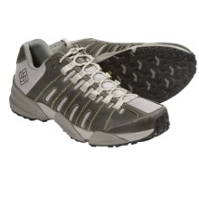 Columbia Sportswear Master of Faster Low Trail Shoes - Leather (For Men) in Silver/Sage - Closeouts