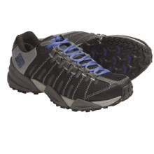 Columbia Sportswear Master of Faster Low Trail Shoes - Omni-Tech®, Waterproof (For Women) in Moonrock/Amporo Blue - Closeouts