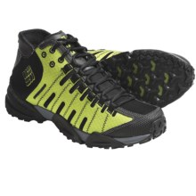 Columbia Sportswear Master of Faster Mid Trail Shoes - Waterproof (For Men) in Black/Lime Green - Closeouts