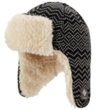 Columbia Sportswear Match Ear Flap Omni-Heat® Beanie Hat (For Youth) in Black - Closeouts