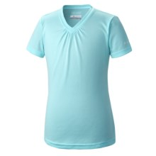 Columbia Sportswear Meeker Delight Omni-Wick® T-Shirt - Short Sleeve (For Toddler Girls) in Candy Mint - Closeouts