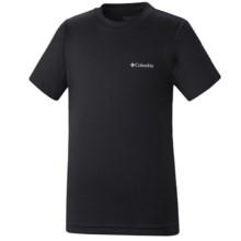Columbia Sportswear Meeker Peak II Omni-Wick® T-Shirt - Short Sleeve (For Boys) in Black - Closeouts