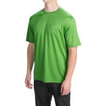 Columbia Sportswear Meeker Peak T-Shirt - UPF 15, Short Sleeve (For Men) in Clean Green - Closeouts