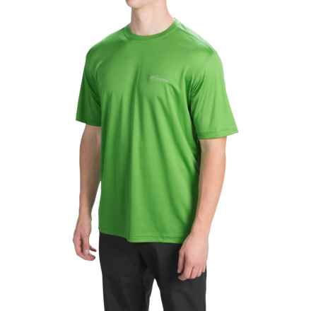 Columbia Sportswear Meeker Peak T-Shirt - UPF 15, Short Sleeve (For Men) in Clean Green - Closeouts