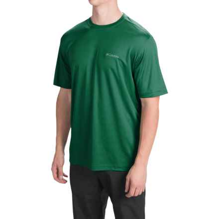 Columbia Sportswear Meeker Peak T-Shirt - UPF 15, Short Sleeve (For Men) in Wildwood Green - Closeouts