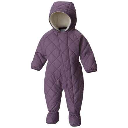 Columbia Sportswear Meet Cute Omni-Shield® Bunting Suit - Insulated (For Infants Boys) in Antique Iris Heather