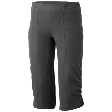 Columbia Sportswear Mega Trail Capris (For Youth Girls) in Grill