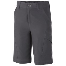 Columbia Sportswear Mega Trail Shorts - UPF 50 (For Boys) in Grill - Closeouts