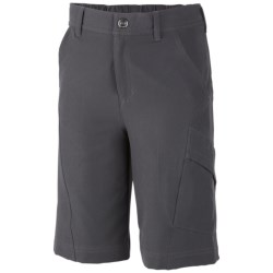 Columbia Sportswear Mega Trail Shorts - UPF 50 (For Boys) in Grill