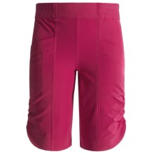 Columbia Sportswear Mega Trail Shorts - UPF 50 (For Girls) in Bright Rose - Closeouts