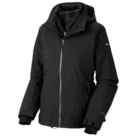 Columbia Sportswear Melting Point Omni-Heat® 3-in-1 Jacket - Waterproof (For Women) in Black