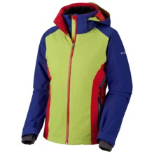 Columbia Sportswear Melting Point Omni-Heat® 3-in-1 Jacket - Waterproof (For Women) in Leapfrog - Closeouts