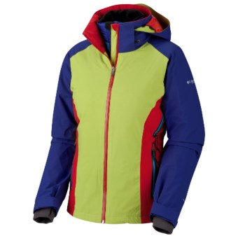 Columbia Sportswear Melting Point Omni-Heat® 3-in-1 Jacket - Waterproof (For Women) in Leapfrog