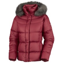 Columbia Sportswear Mercury Maven II Down Jacket - 550 Fill Power, Removable Hood (For Women) in Red Velvet - Closeouts