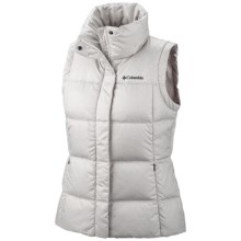 Columbia Sportswear Mercury Maven II Down Vest - 550 Fill Power (For Women) in Sea Salt - Closeouts