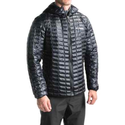 Columbia Sportswear Microcell Omni-Heat® Hooded Jacket - Insulated (For Men) in Black - Closeouts