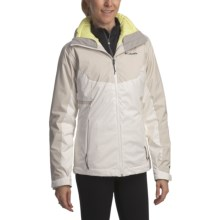 Columbia Sportswear Midnight Glades Parka - 3-in-1, Waterproof, Insulated (For Women) in Sea Salt - Closeouts