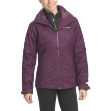 Columbia Sportswear Midnight Glades Parka - 3-in-1, Waterproof, Insulated (For Women) in Vino Emboss - Closeouts
