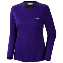 Columbia Sportswear Midweight II Omni-Heat® Base Layer Top - Long Sleeve (For Women) in Hyper Purple - Closeouts