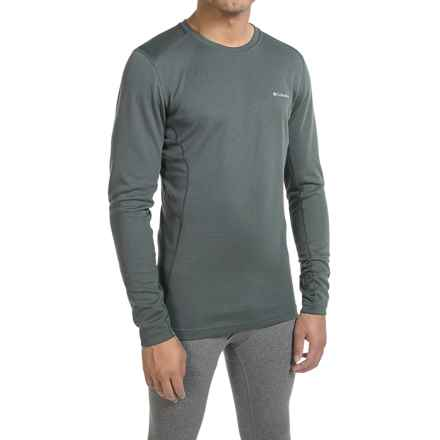 Columbia Sportswear Midweight Mesh Omni-Heat® Base Layer Top - Long Sleeve (For Men) in Graphite - Closeouts