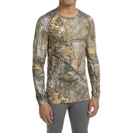 Columbia Sportswear Midweight Stretch Camo Omni-Heat® Base Layer Top - Long Sleeve (For Men) in Realtree Xtra - Closeouts