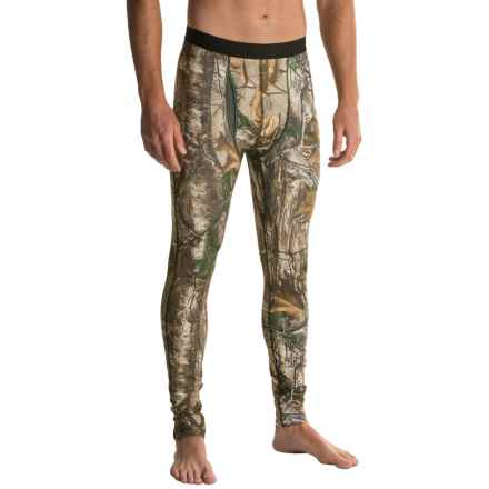 Columbia Sportswear Midweight Stretch Printed Base Layer Pants (For Men) in Realtree Xtra - Closeouts