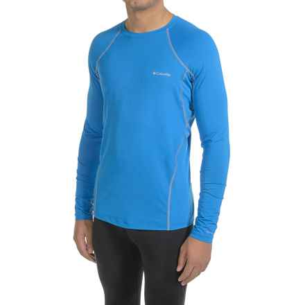 Columbia Sportswear Midweight Stretchy Omni-Heat® Base Layer Top - Long Sleeve (For Men) in Hyper Blue - Closeouts