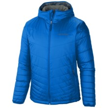 Columbia Sportswear Mighty Light Omni-Heat® Hooded Jacket - Insulated (For Big and Tall Men) in Hyper Blue - Closeouts